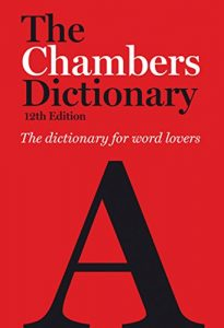 Chambers English Dictionary, 12th Edition book cover