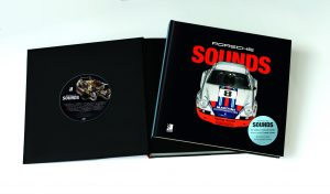 Porsche Sounds Packshot book and CD