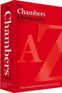 Chambers Dictionary packshot