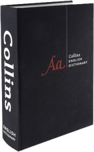 Collins Dictionary packshot