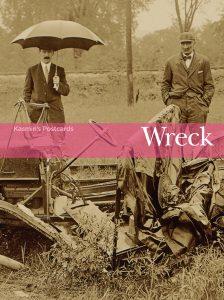 Kasmin's postcards: Wreck book cover