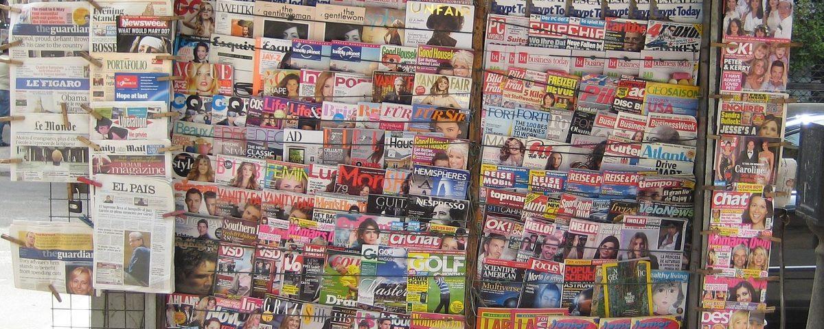 Newstand in Cairo