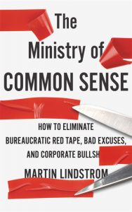 Cover of book denouncing excessive bureaucracy across corporations