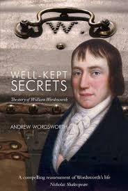 Book cover of William Wordsworth's biography, written by his descendant, Andrew Wordsworth